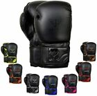 Kyпить Leather Boxing Gloves Muay Thai Training Punching Bag Sparring Gloves MMA  на еВаy.соm