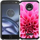For Motorola Moto Z Force Droid Slim Hybrid Armor Case Protective Phone Cover