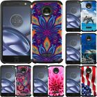 Slim Hybrid Armor Case Cover for Motorola Moto Z Force Droid XT1650M