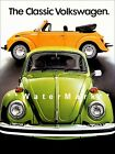 VW Beetle 1977 Vintage Poster Print Classic German Car The Bug Advertisement