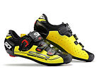 SIDI Genius 7 Carbon Road Cycling Shoes - Black/Yellow/Black