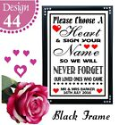 IPERSONALISED WEDDING SIGNS CHOOSE A HEART SIGN YOUR NAME TABLE CHALKBOARD SIGN