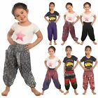 Kids Hippie Trousers Child boho Baby Aladdin Pants Colorful Children Unisex