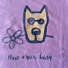 Life is good NWT s/s womens tshirt nice daisy rocket dog dusty orchid med-xxxlg