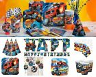 Blaze and The Monster Machines Birthday Party Supplies Tableware Decorations Set