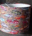 Hotrod Cars Lampshade