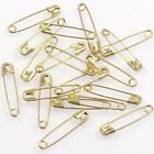 20pc 50pc 100pcs Small Safety Pins Solid Brass 24mm x 5mm Craft Jewellery Sewing