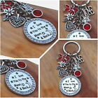 Valantines day Gift Keyring - I love you to the moon & back