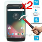 2Pcs 9H Premium Tempered Glass Screen Protector For Motorola Moto G4 / G5 Plus