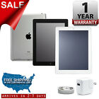 Apple iPad 2 | 16GB 32GB 64GB |Black White | 9.7in Wi-Fi Tablet One Year Warrant