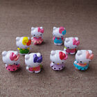 8 PCS Hello Kitty Sanrio Cute Toy Child Gift DIY Decorate Action Figure Set