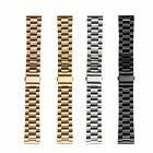 Link Bracelet Stainless Steel Watch Band For Moto 360 2nd Men's Women's 42 46mm