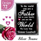 DAD BIRTHDAY GIFTS FOR FATHER FOR HIM PERSONALISED BIRTHDAY PRESENTS CARDS
