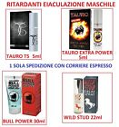 Ritardanti eiaculazione TAURO T5 Spray WILD Stud BULL POWER DELAY Marchio CE