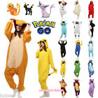 Anime Pokemon Animal Kigurumi Sleepwear Onesie Pajamas Jumpsuit Cosplay Costume