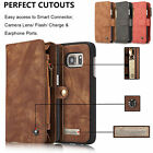 Genuine Leather Purse Wallet Case For iPhone 6/ 7 Plus Magnetic Removable Cover $13.95 USD