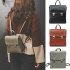 Women's Small Mini Faux Leather Backpack Rucksack Daypack Purse bag Cute Retro