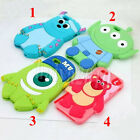Sully& Monster Cartoon Silicone Case Cover For iPhone 4/ 4S/ 5/ 5S/ 6/ 6 Plus