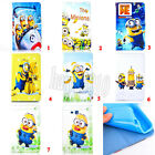 Despicable Me Minion Leather Wallet Case Cover For Samsung Tab 3 Lite T110 7""