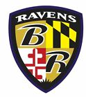 Baltimore Ravens Sticker Decal S7 YOU CHOOSE SIZE $3.95 USD on eBay