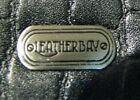 Leatherbay Woman's Genuine Leather Quality Black  Wallet New