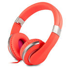RockPapa Stereo Foldable Adults Kids Headphones Headsets Adjustable MP3/4 PC DVD
