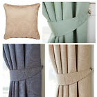 Estow Textured Jacquard Lined Ring Top Curtains Beige, Blue, Green  *sale*