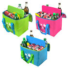 LARGE 20 LITRE COOL BAG WITH ICE PACK INSULATED COOLING ELEMENT PICNIC FESTIVAL