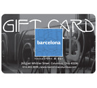 Barcelona Restaurant Gift Card - $25, $50 or $100 - Email delivery