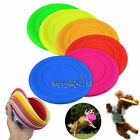 Pet Dog Training Soft Frisbee Throwing Flying Disc Frisby Fetch Silicone Toys
