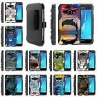 For Samsung Galaxy J Series Phone Case Holster Clip Armor Sea Ocean Design