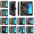For Samsung Galaxy J Series Phone Case Hybrid Holster Clip Armor Military War $10.99 USD on eBay