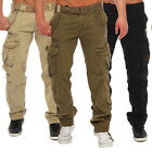 Geographical Norway Men's Pretoria Cargo Hose Casual Trousers Military Army
