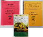 NEW The Story of the Church Text, Workbook or Answer Key Homeschool History OLVS