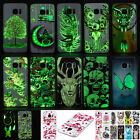 Soft TPU Silicone Luminous Case Cover Skin For Samsung Glow in Dark Clear Side