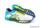 Asics womens Gel-Quantum 180 running shoes sneakers  - White / Lime / Turquoise