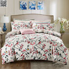 Red Flower King Single Queen Size Bed Doona Quilt Duvet Cover Set Pillowcase New