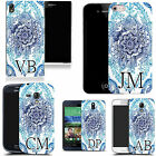 PERSONALISED INITIALS CASE FOR SONY MOBILES - floral bliss MONOGRAM