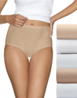 10 Hanes Ultimate™ Comfort Cotton Women's Brief Panties 40HUCC