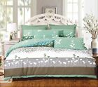 Buttercups 3pc 100% Cotton Duvet Cover Set: Duvet Cover and Two Matching Shams