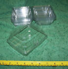 New Clear Boutonnier Boxes 5x4x3 inch Snap Close Choose Amount 10/25/50