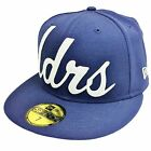 New Era 59Fifty Leaders1354 LDRS Script Navy Fitted Cap