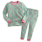 "Vaenait Baby Toddler Kids Girls Clothes Lacy Pajama Set ""Rose Garden"" 12M-7T"