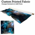 GALAXY 7 PRINT DESIGN POLYESTER FABRIC DIGITAL PRINT MATERIAL SPANDEX LYCRA