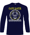 Cafe Racers T-Shirt Long Sleeve Biker 60's Rock & Roll Ace 50s Cafe Racer Rock $19.34 USD on eBay