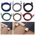 Lengthened 1M 2M 3M Fast Charging USB Cable Sync Power Cord For iPhone Samsung