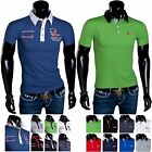 POLOHEMD SOMMER HEMD SLIM KURZARM NEW POLOSHIRT HERREN T-SHIRT PARTY POLO