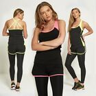 New Women's Shorts Overlay Active Wear Sports Wear Gym Running Yoga Tracksuit