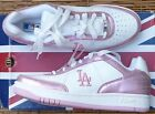 "REEBOK ""L A BASEBALL"" WOMENS WHITE LEATHER TEAM WEAR ATHLETIC SHOES SZ 9.5 NEW"