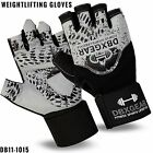 Gym Body Building Training Fitness Gloves Weight Lifting Workout Exercise Grey